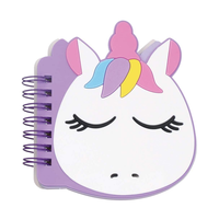 Iscream Mini Unicorn Shaped Notebook