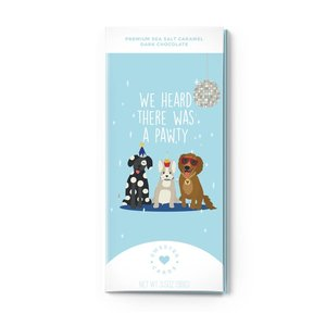 Sweeter Cards Dog Lover Happy Birthday Card with Chocolate Inside!