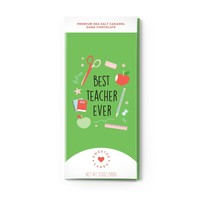 Sweeter Cards Best Teacher Ever - Teacher Appreciation Card with Chocolate INSIDE
