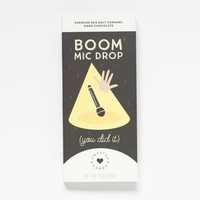 Sweeter Cards Boom Mic Drop - Congratulations You Did It! Chocolate Bar and Card