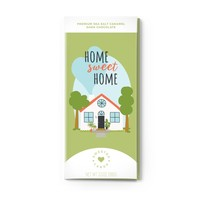 Sweeter Cards Home Sweet Home - Greeting Card with Chocolate Bar INSIDE!