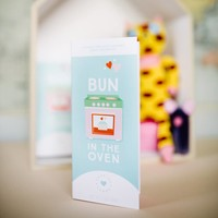 Sweeter Cards New Mom Card with Chocolate - Bun in the Oven