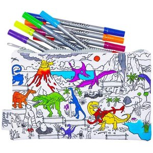 Eatsleepdoodle Dinosaur Pencil Case
