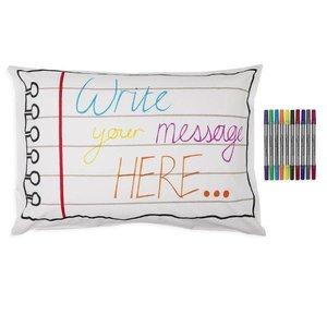 Eatsleepdoodle Doodle Notebook Pillowcase
