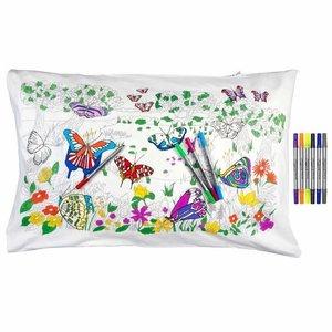 Eatsleepdoodle Butterfly Pillowcase