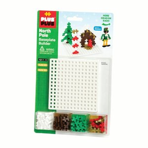 Plus Plus Baseplate Builder - North Pole