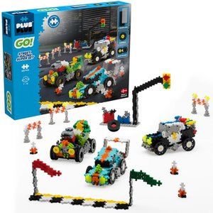 Plus Plus GO! - Street Racing Super Set - 900 pieces - Ages 7-12