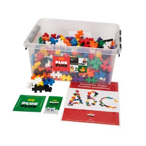 Plus Plus 400 Pieces (BIG) - Assorted Colors in Tub
