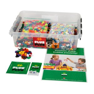 Plus Plus 3600 pieces - Assorted Colors in Tub