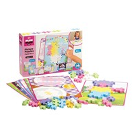 Plus Plus BIG Picture Puzzles - Pastel - 60 pieces (ages 3-7)