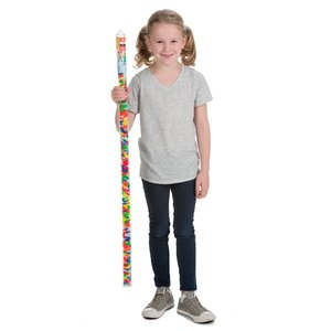 Plus Plus Super Tube - Neon Mix - 510 pieces - Ages 5-12