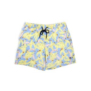 Shade Critters Men's Swim Trunks - Blue Bananas