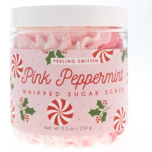 Feeling Smitten Pink Peppermint Whipped Sugar Scrub