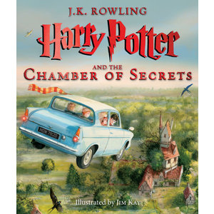 Scholastic Harry Potter and The Chamber of Secrets (The Illustrated Edition)