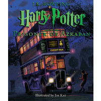 Scholastic Harry Potter and The Prisoner of Azkaban (The Illustrated Edition)