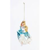 """One Hundred 80 Degrees Cinderella - Glass Ornament - 5"""", 5.5"""""""