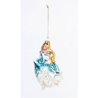 "One Hundred 80 Degrees Cinderella - Glass Ornament - 5"", 5.5"""
