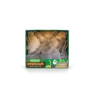 Handstand Kitchen Dinosaur - 10 piece Cookie Cutter Set