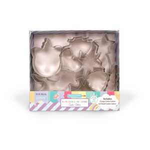 Handstand Kitchen Rainbows & Unicorns - 10 piece Cookie Cutter Set