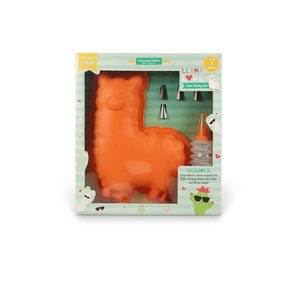Handstand Kitchen Llama Love - Cake Baking Set - 7 Pieces