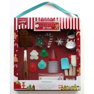 Handstand Kitchen Cookies for Santa - 18 Piece Set (Christmas)