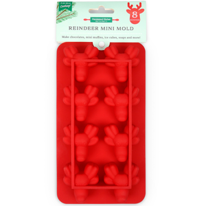 Handstand Kitchen Winter Wonderland Reindeer Mini Mold