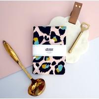 Eleanor Bowmer Pink Leopard Print - Tea Towel