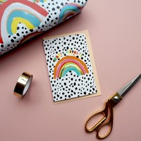 Eleanor Bowmer Happy Birthday - Rainbow Card