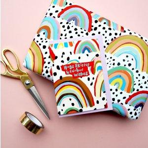 Eleanor Bowmer Hugs & Kisses & Rainbow Wishes - Card