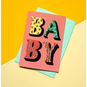 Eleanor Bowmer Baby POP Letters - Card