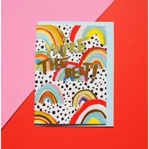 Eleanor Bowmer You're The Best! Rainbow Card
