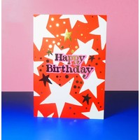 Eleanor Bowmer Happy Birthday - Stars Card
