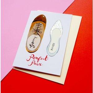 Eleanor Bowmer Perfect Pair Wedding Card