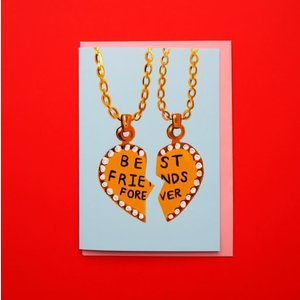 Eleanor Bowmer Best Friends Necklace Card