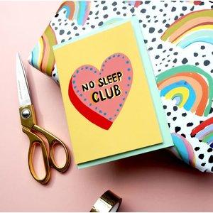 Eleanor Bowmer No Sleep Club Card