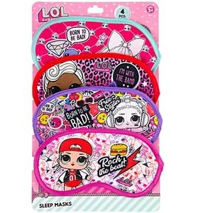 Zoofy LOL Surprise Doll - 4 pack of Sleep Masks
