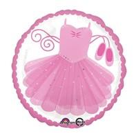 """burton + BURTON 17"""" Pink Ballerina Tutu Balloon 35142"""