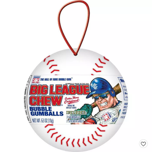 Redstone Foods Big League Chew Baseball Ornament (Christmas)