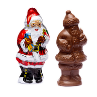 Redstone Foods Madelaine Santa Semi-Solid Chocolate (4.25 inch) (Christmas)