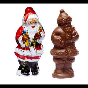 Redstone Foods Madelaine Santa Semi-Solid Chocolate (4.25 inch) (Christmas)