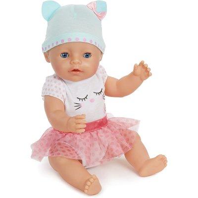 KidFocus BABY born Interactive Doll - Blue Eyes