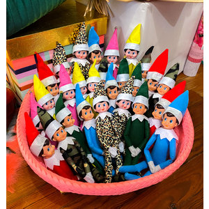 Ty Elf on the Shelf - Pink