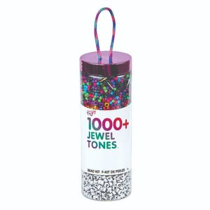 Fashion Angels Jewel Tone Bead Kit TO-GO - 1000+ Beads
