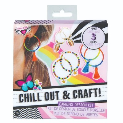 Fashion Angels CHILL OUT & CRAFT Earring Design Kit
