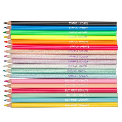 Fashion Angels 18 Pack of COLORED PENCILS