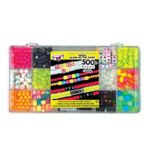 Fashion Angels Tell Your Story - Alphabet Bead Case - Small -  Neon Glow in the Dark!