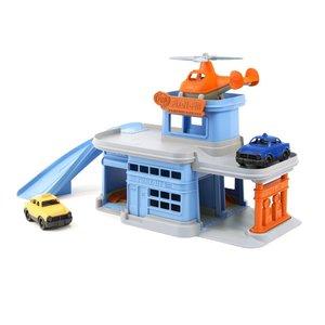 Green Toys Parking Garage - 5 Piece Set (Ages 3-8)