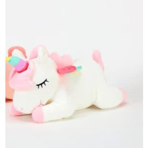 One Hundred 80 Degrees WHITE - Unicorn Plush Stuffed Animal - 16""
