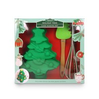 Handstand Kitchen Christmas Tree - Cake Baking Set