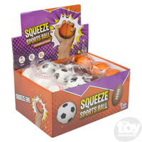 The Toy Network Football - Stress Ball Squishie